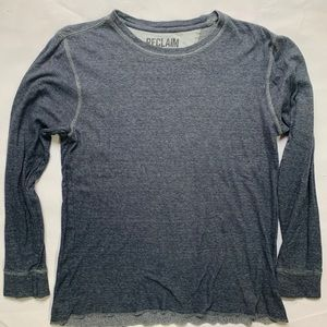 Men's pullover thermal by Reclaim size Medium